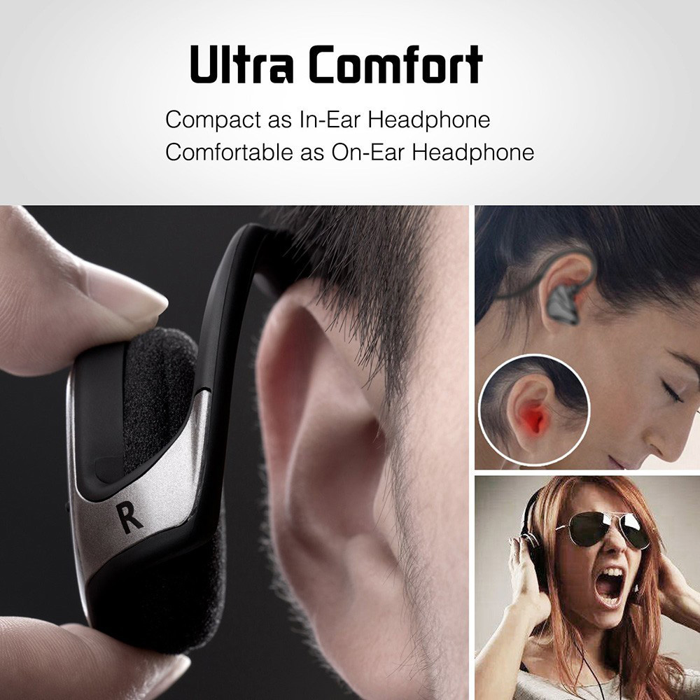 cheapest A6 Bluetooth 5 0 Sports Headsets Portable Wireless Headphones Hi-Fi Stereo Sports Running Headphones Portable Bluetooth Headset