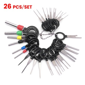 10pcs 5 pairs connector ends battery quick connector 50a 8awg plug with terminal pin new New Car Terminal Ejector Kit Removal Tool Wire Plug Connector Extractor Puller Release Pin Electrical Wiring Crimp Connector Pin