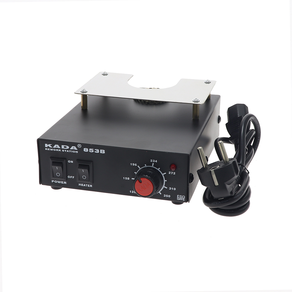 KADA 853B 220V / 110V 540W Preheating Station For BGA PCB BGA Recycling Station Preheating / Heating / Desoldering Station Hot A