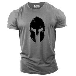 Spartan Retro 3D printed men's summer T-shirt, fashionable street style, comfortable Harajuku T-shirt. XXS-6XL