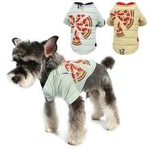 Утепленная теплая одежда для собак, осенне-зимняя одежда, верхняя одежда для питомца, 2 ноги, куртка для улицы, чихуахуа, чем медведь, желтый цвет