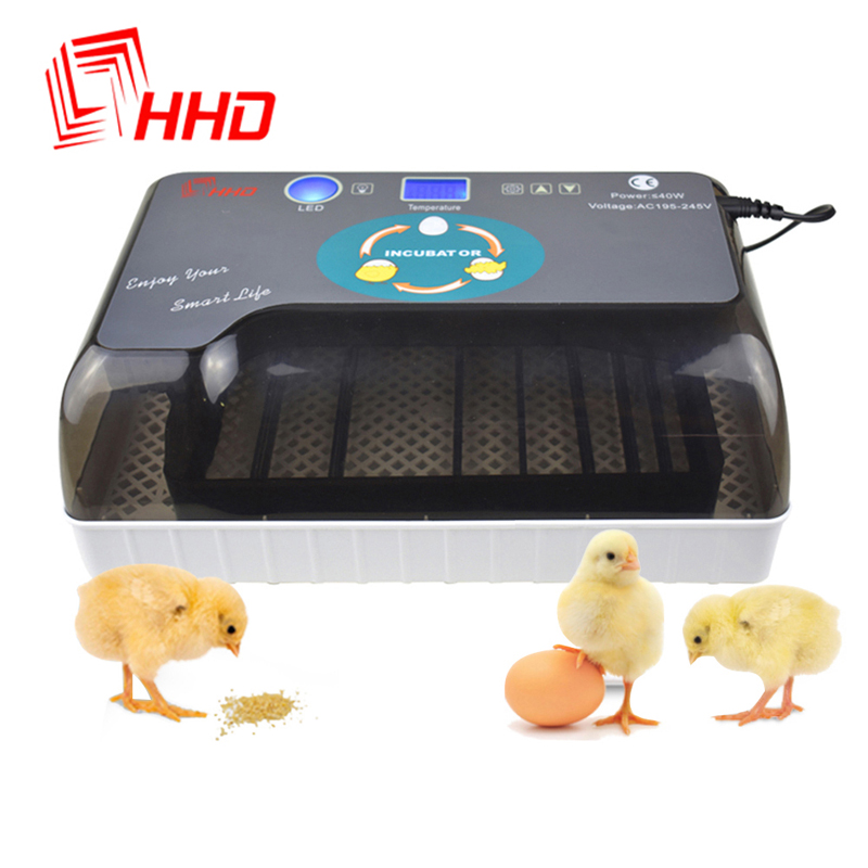 Full Automatic Incubator Brooder Farm Hatchery Machine 12 Egg Hatcher Chicken Automatic Egg Incubator Goose Bird Quail Brooder