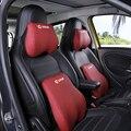 Автомобильная внутренняя отделка с эффектом памяти подголовник поясная подушка защита шеи Подушка для Mercedes Smart 450 451 453 fortwo forfour Стайлинг