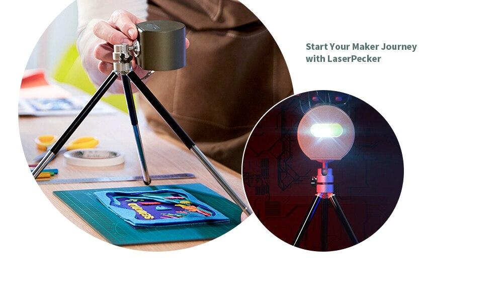 Portable Mini CNC Laser Engraving Machine Wood Router 1600mW