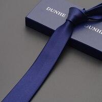 High Quality 2019 Brands New Arrivals Fashion Silk Ties for Men Solid Color Necktie Men's Ties Formal Necktie 5cm Slim Tie