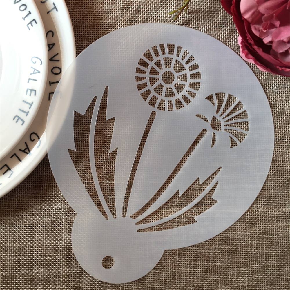 1Pcs 15cm Dandelion DIY Craft Layering Stencils Painting Scrapbooking Stamping Embossing Album Paper Card Template