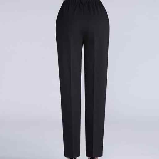 Large Size 6XL Spring Autumn Middle Aged Women Pants Slim High Waist Gothic Straight Pants Female Trousers DF443