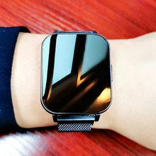 2021 Smart Uhr Männer IP68 Wasserdichte 1,78 Zoll Bildschirm Smartwatch Frauen Herz Rate Blutdruck Monitor Fitness Tracker Uhren