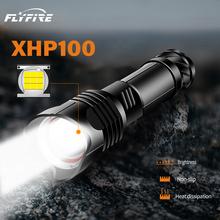 2020 nowy XHP100 Ultra mocny 18650 LED latarka XLamp USB akumulator XHP70 latarka taktyczna 26650 Zoom obóz latarka xhp50 tanie tanio paweinuo CN (pochodzenie) Odporny na wstrząsy Samoobrona POWER BANK Twarde Światło Regulowany HS532 HS522 500 metrów