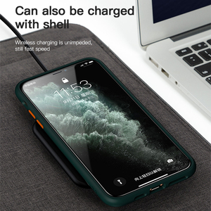 Image 4 - Benks Luxury Matte Phone Case For iphone 11/11 Pro/11 Pro Max Anti fall Full Protection Back Cover Transparent Contrast Shell