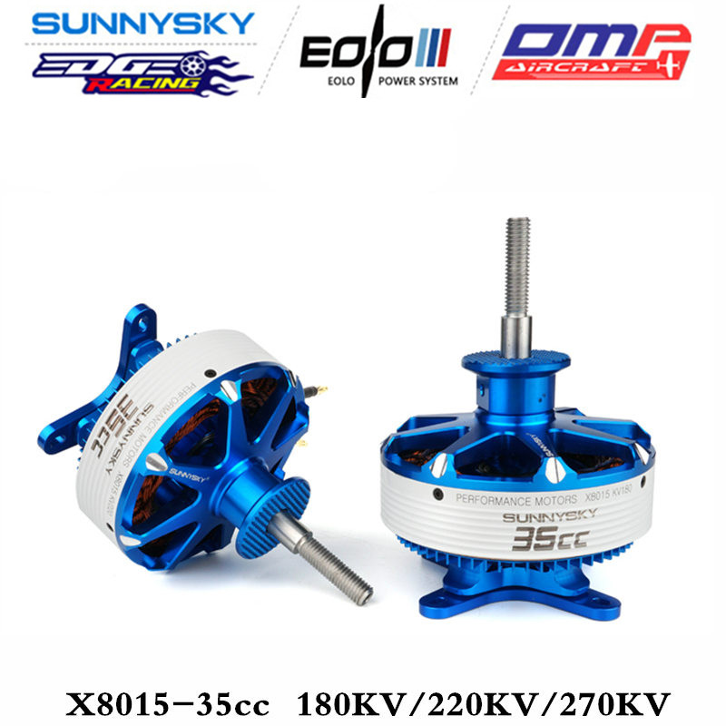 Sunnysky X8015 180kv 220kv <font><b>270KV</b></font> 35cc or 3D Fixed-wing plane <font><b>brushless</b></font> high power <font><b>motor</b></font> image