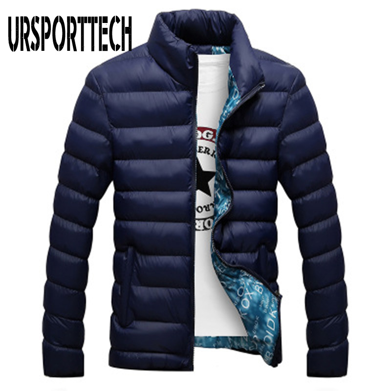 Quality Winter Jacket Men 2019 Fashion Stand Collar Male Parka Jacket Mens Solid Thick Jackets and Coats Man Winter Parkas M 4XL in Parkas from Men 39 s Clothing
