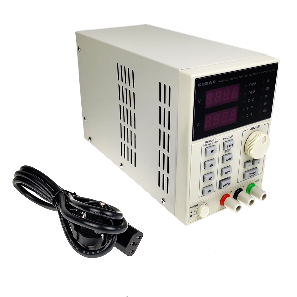 CNC DC Adjustable Regulated Power Supply 30V 5A Mobile Phone Repair KA3005D