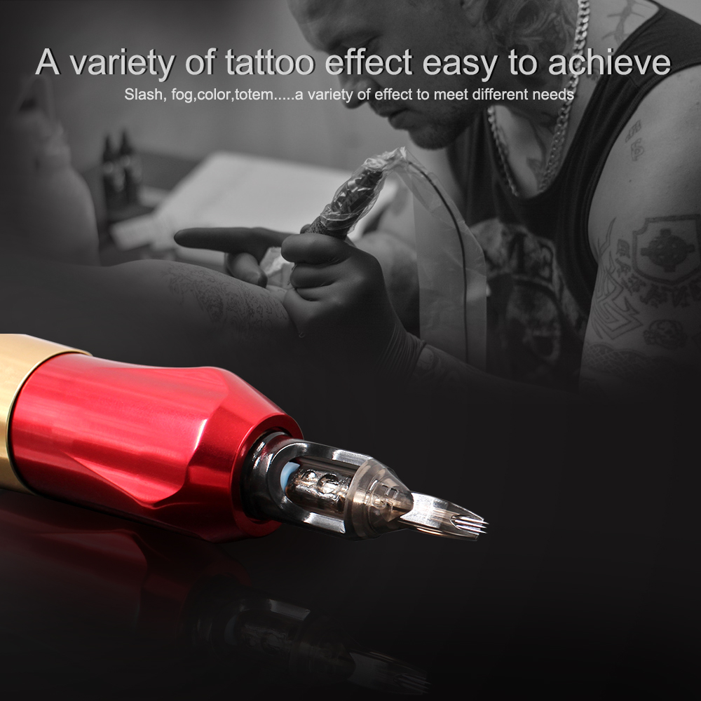 Tattoo Needles Disposable Semi-Permanent Makeup Eyebrow Needle Cartridge For Tattoo Machine Device Rotary Gun Body Art Supplies