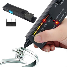 Diamond Gems Tester Pen Portable Gemstone Selector Tool LED Indicator High Accuracy Reliable Jewelry Watcher Test Tools