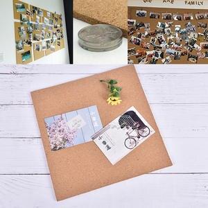 Board-Pad Showcase-Board Cork No Frameless-300x300x6mm Memorandum-Product Memo-Pin Fixings