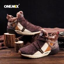 Мужские Водонепроницаемые зимние ботинки onemix женские кроссовки