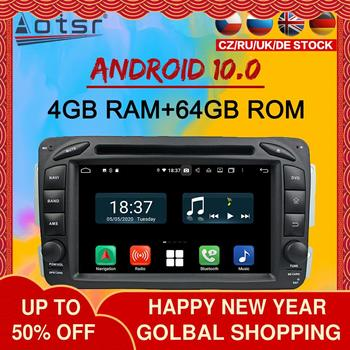 For Benz C-class W203 Android Multimedia Radio 2000 - 2004 Car Autoradio Player cassette recorder Head unit GPS Navi Stereo 2din image
