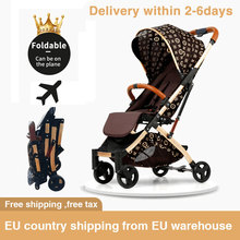 5.8kg light stroller Portable folding Umbrella Carriage aluminium Frame baby stroller Travel Pram plane newborn car free ship ultra light folding rainbow umbrella infant stroller car shock absorbers four wheels baby stroller baby carriage pram