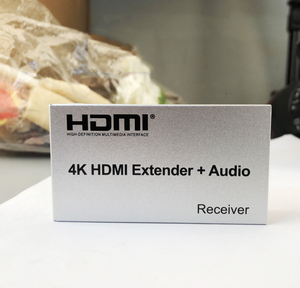 Image 5 - 4K HDMI extensor 100M R/L de salida de Audio de la señal HDMI extensión por Cat5E CAT6 RJ45 Ethernet Cable de vídeo convertidor TX RX de la PC a TV HDTV
