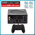 Новейшая игровая консоль для видео, супер консоль X Mini PC Box со встроенными 63000 ретро-играми для PS3/PS2/PS1/WII/DC/PSP,HD и DP с двойным выходом