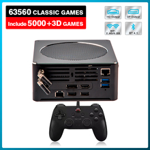 وحدة تحكم ألعاب فيديو Super Console X Mini PC Box ، 63000 لعبة ريترو مدمجة لـ PS3/PS2/PS1/WII/DC/PSP ، HD و DP ، مخرج مزدوج