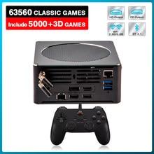 Mais novo console de jogos de vídeo super console x mini caixa de computador embutido 63000 jogos retro para ps3/ps2/ps1/wii/dc/psp, hd & dp saída dupla