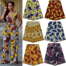 Tela de Batik con estampado africano de cera Real, tejido clásico de diseñador, Tissu, la mejor calidad, 100%, patio de algodón, garantía