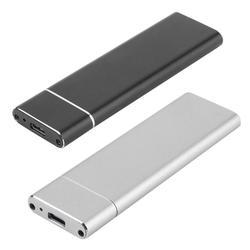 Usb 3.1 para m.2 ngff ssd caixa de disco rígido móvel adaptador cartão externo caixa gabinete para m2 sata ssd usb 3.1 2230/2242/2260/2280