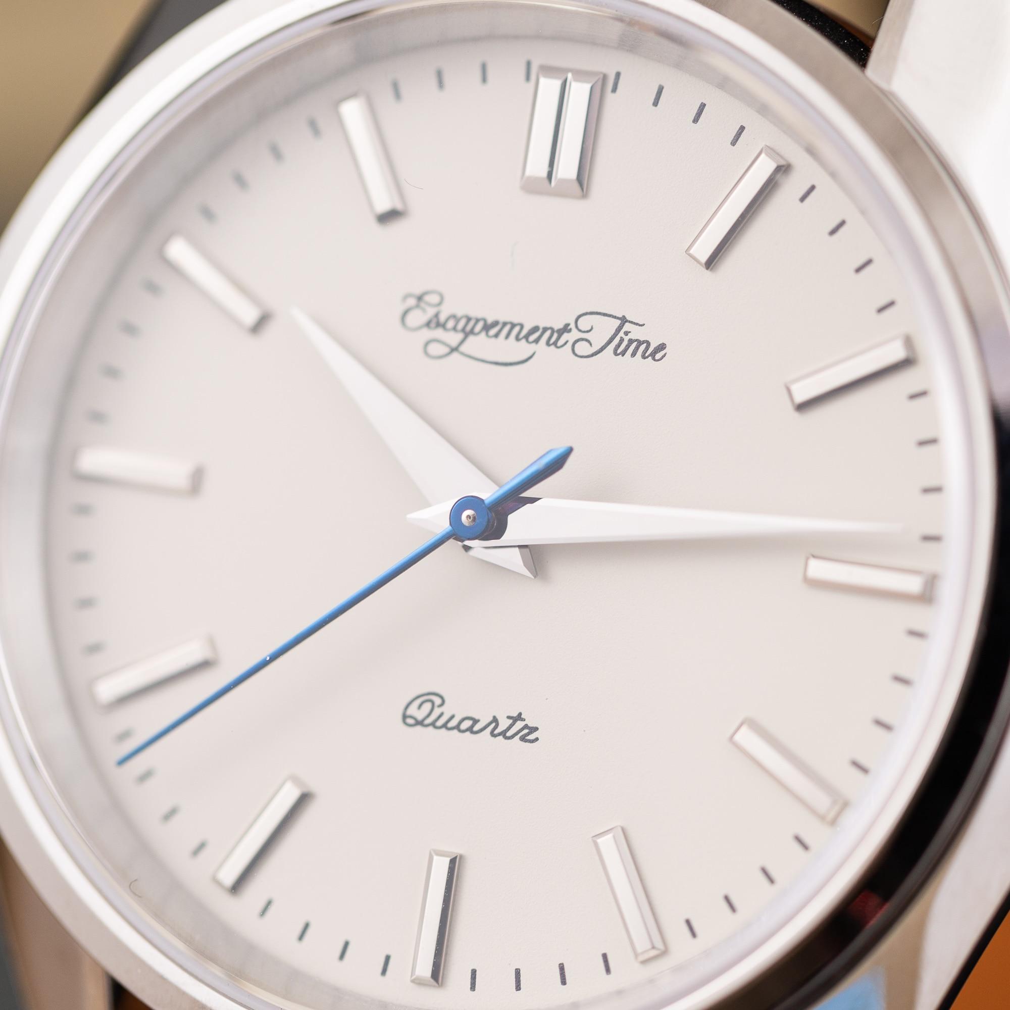 【Escapement time】Quartz Watch 40mm Case VH31  Heat Treatment Hand 2
