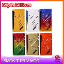 Originele Smok T Priv 220W Box Mod Voor Dual 18650 Batterij Elektronische Sigaret Vape Mod Voor 510 Draad