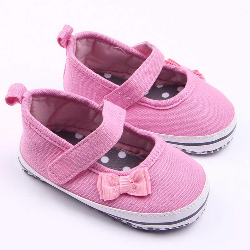 0-18 חודשים תינוקת נעלי רך תחתון לנשימה החלקה הראשונה הליכונים תינוקות יילוד נסיכת תינוק נעליים