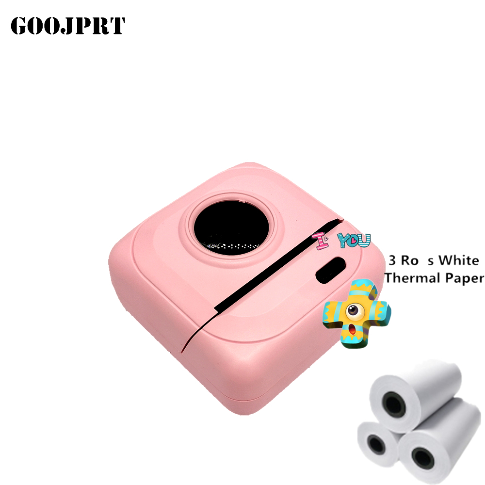 Portable Bluetooth Printer 58mm Mini Thermal Photo Printer For Mobile Phone Pocket Printer For iOS Android Windows 1000 mAh|Printers| |  - title=