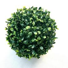 Green  Simulate Plastic Leave Ball Artificial Grass Home Party Wedding Mall Decoration