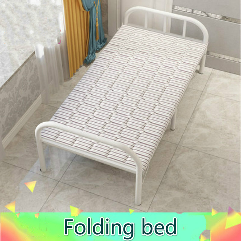 Start Light Folding Bed Single Lunch Nap Simple Portable Office Home Rent Adult Escort Iron Board