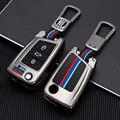 Zinc Alloy Car accessories Car Key Cover Case For Volkswagen VW Golf7 mk7 Seat Ibiza Leon FR 2 Altea Aztec For Skoda Octavia