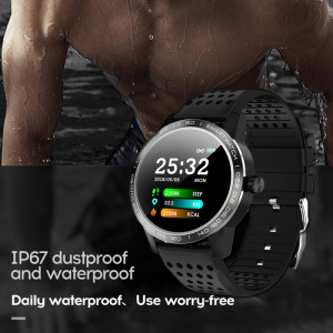 Image 2 - WearpaiT2 Smart Watch Men Fitness Tracker Heart Rate Monitor Blood Pressure Bluetooth Alarm incoming call water proof watch men