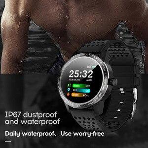 Image 2 - WearpaiT2 montre intelligente hommes Fitness Tracker moniteur de fréquence cardiaque tension artérielle Bluetooth alarme appel entrant montre étanche à leau hommes