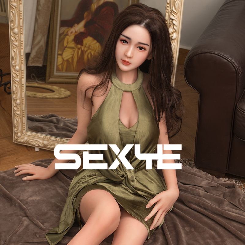 SEXYE Silicone <font><b>Sex</b></font> <font><b>Doll</b></font> Adult Toys Real implanted hair real vein For Man Anime Big Breast Sexdoll With Metal Skeleton Adult <font><b>Doll</b></font> image