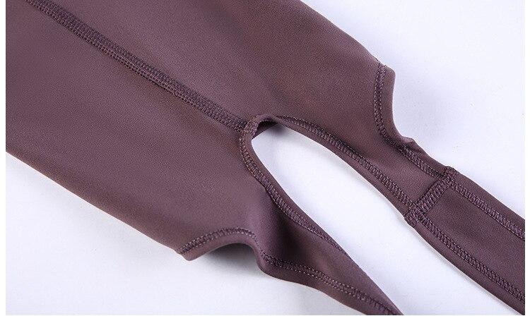 Women's Solid Skinny Buttocks Elastic Casual Leggings