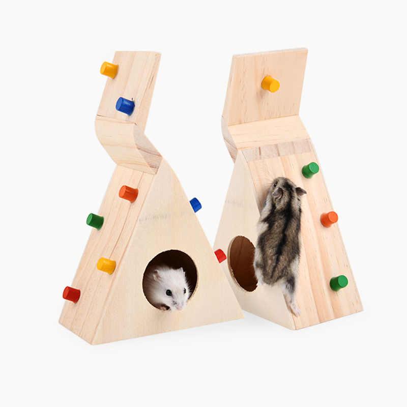 Piccolo Animale Domestico Criceto Accessori Scala di Risalita Piccolo Ratto di Alimentazione Gerbil Mouse Criceto Giocattolo Costumi da Compagnia Littlest Negozio Criceto Giocattoli