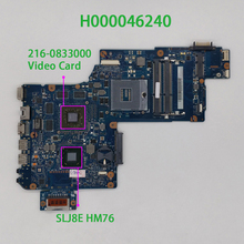 H000046240 W 216 0833000 Gpu Plf/Plr/Csf/Mvo Dsc Mb Rev: 2.1 Voor Toshiba Satellite 17.3 L870 L875 Notebook Laptop Moederbord