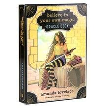 Верьте в свою собственную магическую карточку, колода с изображением особала и для начинающих, с руководством в формате PDF, карточная игрушк...