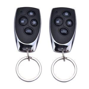 Image 3 - Auto Alarm Fahrzeug System 1 Weg Remote Zentrale Türschloss Keyless System Mit 2 Fernbedienung Einbrecher Schutz Sicherheit system