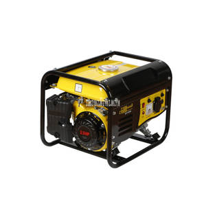 Engine-Generator Gas-Fuel-Tank Gasoline Natural 1000W 220V Mini 6L Hand-Pull Liquefied