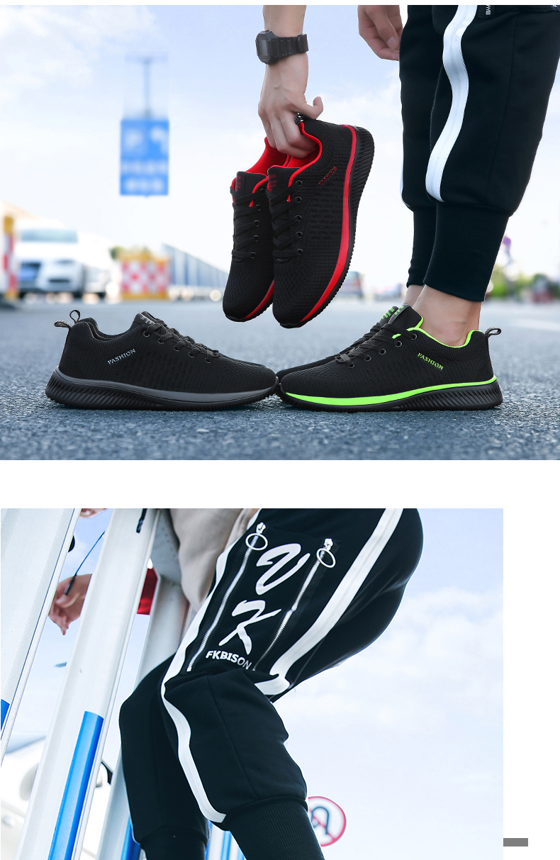 Hee7396a4c8824cd2ade7ad7c385bc1a6p New Mesh Men Casual Shoes Lac-up Men Shoes Lightweight Comfortable Breathable Walking Sneakers Tenis masculino Zapatillas Hombre