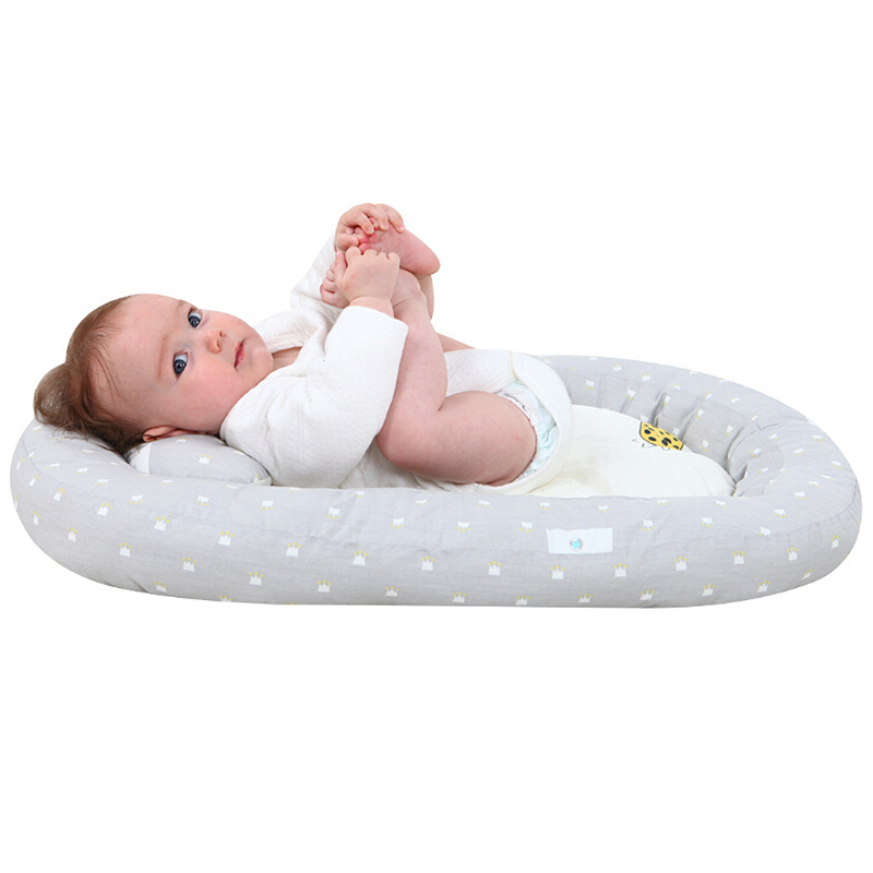 Baby Bed Baby Breathable Recliner Sleep Bed Cotton Portable Crib Bedroom Baby Bionic Bed
