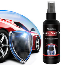 50ml/100ml Ceramic Car Coating Paint Care Car Nano Repairing Spray Oxidation Liquid Ceramic Coat Super Hydrophobic Glass(China)