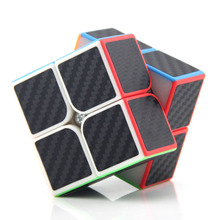 Non-toxic Carbon Fiber Stickers Magic Cube High Quality Fast Speed Cubos Magicos Kids Early Learning Speed Cube Toy for Children magic cube magique magic square cube classic new year set cubos magicos inhalation for children grownups 502696