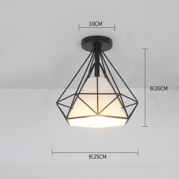 Ceiling light ceiling lamp iron living room lights modern deco salon for dining room hanging led light fixtures surface mounted 18